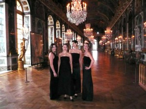Quatuor Ivana au château de Versailles