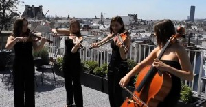 quatuor Ivana sur les toits 2