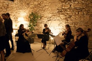 cocktail mariage Ivana String Quartet château Serrans
