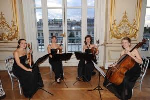 Quatuor Ivana au musée d'Orsay