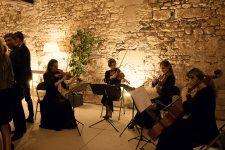 Ivana String Quartet au château de Serrans